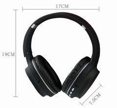 Folding wireless headset bluetooth insert card sport music mobile universal headset black
