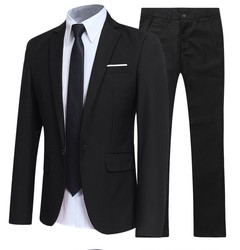 selling foreign trade suit two-piece suit men business marriage work professional slim
