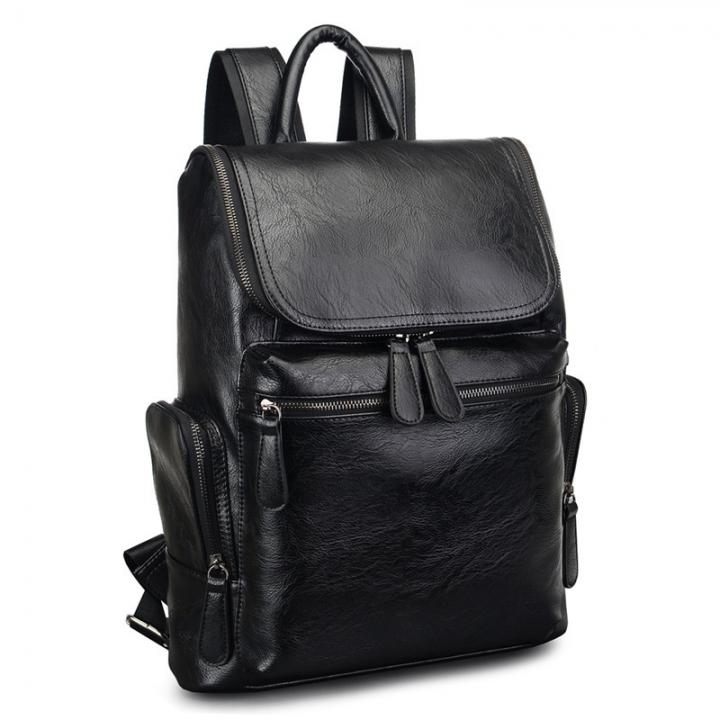 67067c1296d9 New men Casual fashion korea style backpack handbag shoulderbag travelling bag  black one size