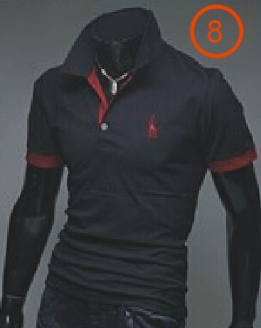 8 Colors 100/% Cotton Mens Polo T-Shirts Summer Casual Short Sleeve Shirt M~3XL