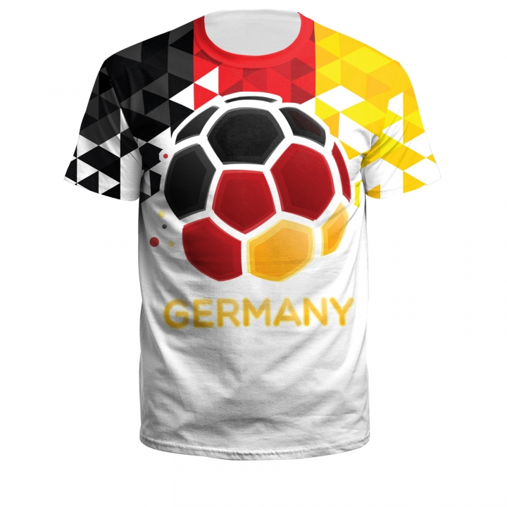 quality design a8f04 6a0aa 2018 Russia World Cup Jersey T-shirt football team 3D printed loose short  sleeved T-shirt b1221-222 xl polyester