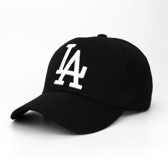 letter Baseball Caps LA Dodgers Embroidery Hip Hop bone Snapback Hats for Men  Women Adjustable picture 1 adjustable  Product No  1830374. Item specifics  ... ea9afa388ed6