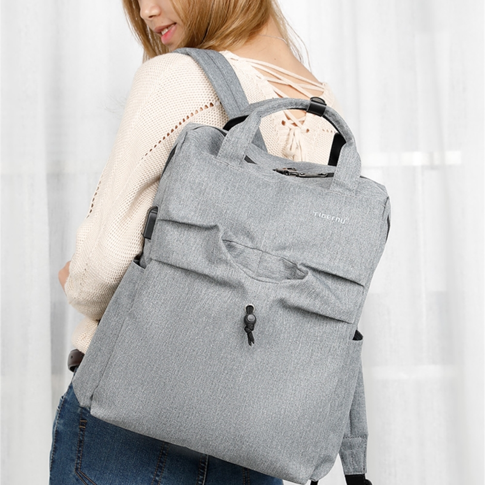 TB3355 Women Backpack High Quality Multi-Functional Bag Mami Unique ... 20763be9e91d8