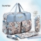 5 Styles Mommy Baby Nappies Bags Travel Bags Mom Backpack Maternity Large Capacity Outdoor Bags6069# 04# 39*29*19cm