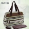 Large Capacity Maternity Diaper shoulder bags For Travel Multifunctional Mother Mummy Baby Bag8009# 02# green 42*15*31cm