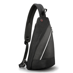 New men's Messenger bag simple leisure travel large capacity shoulder bag TS8060 Black 42*25*12CM