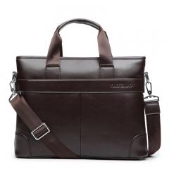 Men's handbags, briefcase, briefcase, computer bag, business casual Brown large