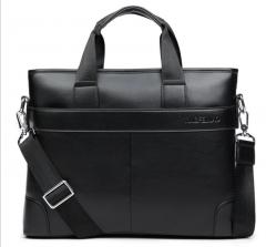 Men's handbags, briefcase, briefcase, computer bag, business casual Black large