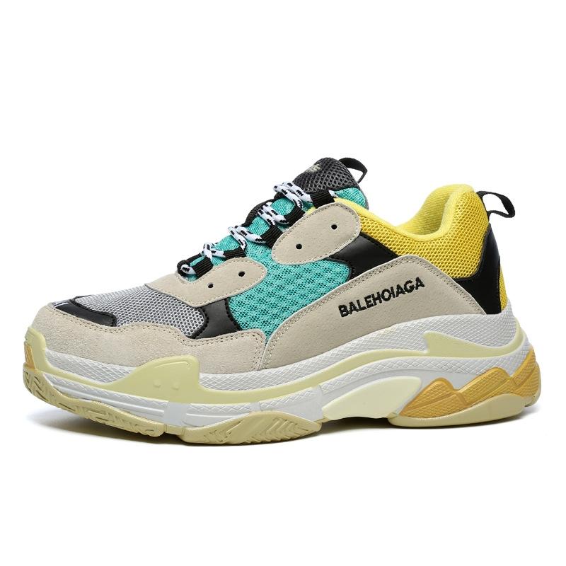 cbc2b085fbd7 Spring and summer man ins shoe tide shoe big size net face shoe ...