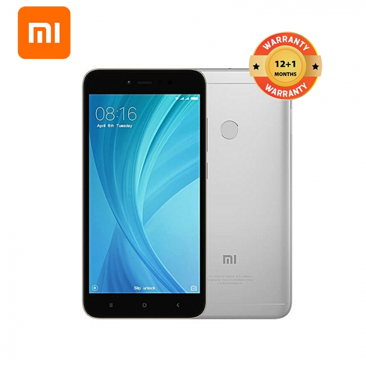 Mi Redmi Note 5A, 2GB+16GB, 5.5HD, 13+5MP, 3080mAh, Snapdragon 425 quad-core, Smartphone Dark Grey