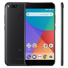 Mi A1, 4GB+32GB, 5.5HD, 12+8MP, Snapdragon 625, Android One, Hybrid Tray,165g, Smartphone black