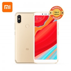 Redmi S2, 3+32GB, 5.99HD,  3080mAh, 16 MP front camera+12MP+5MP rear camera, Face ID, Smart Phone gold