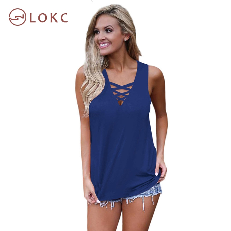 1d5b9a822af9 ... cross strap V-neck sleeveless loose women s t-shirt blue xl  Product  No  1699437. Item specifics  Seller SKU XC-01672  Brand