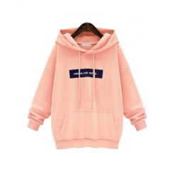 2018 Fall New Hooded Sweatshirt pink s