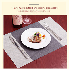 New placemat insulation pad European PVC table mat Western table coaster bowl tableware mat