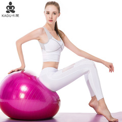 Explosion-proof yoga ball fitness exercise pregnant women childbirth purple 65cm