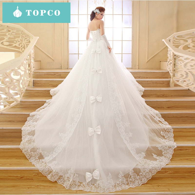 77a5cda22a6 2018 new long-tailed lace wedding dress bridal gown s white  Product No   1558854. Item specifics  Seller SKU XC-02323  Brand