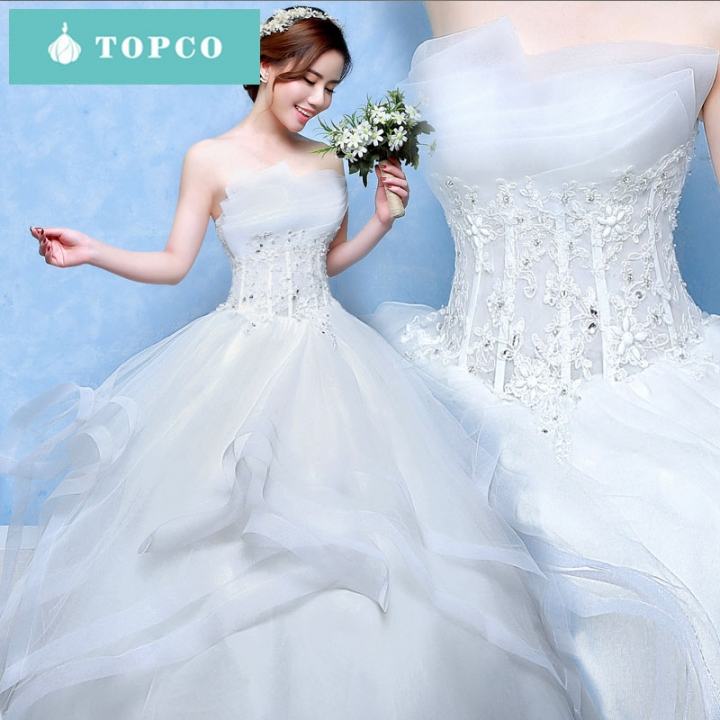 40582367be8ac Beautiful romantic sexy and elegant wedding dress worth having m white