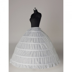 six-ring wedding dress elastic band waist tie lace skirt unisize unisize