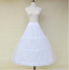 three-ring wedding dress elastic band waist tie lace skirt unisize unisize