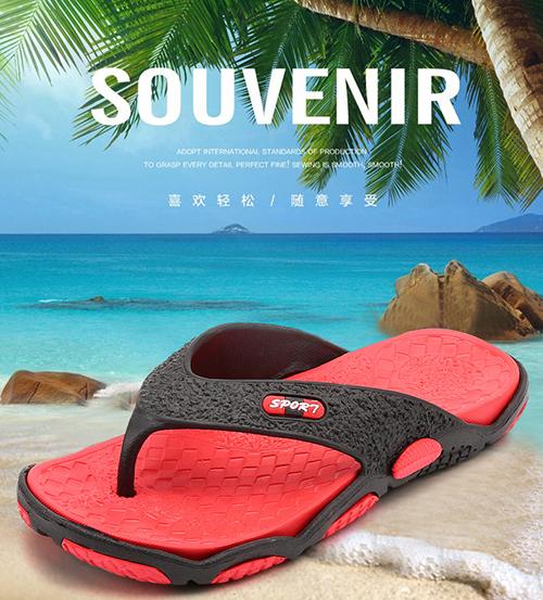 Summer Anti-slipper Sandals in Summer Korean Version Personality orange 40