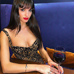 2019 Summer new women's Sling halter sexy word collar Leopard dress s Leopard pattern