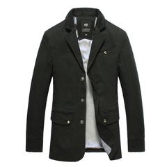 Men Fasion Suit Jackets112 black M