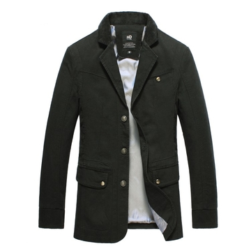 Men Fasion Suit Jackets112 black XXXL