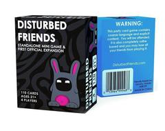 DISTURBED FRIENDS Card game standard color 10cm