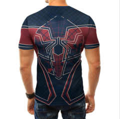 Cross-border new T-shirt Spider Man 3d printed round neck T-shirt matching short sleeves Spider Man s other