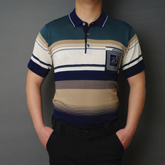 Men's clothing in the summer of 2019 the new men's short sleeve blue s other