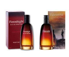 Fahrenheit Temperature Men's Fragrance 100ml Fresh and Lasting Temptation Woody Notes