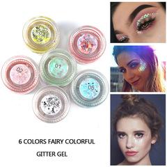 NDAIYAN mermaid sequin gel shiny high-gloss eye shadow sequin gel cream #01