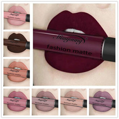Wish hot lip gloss liquid lipstick non-stick cup matte makeup 1#