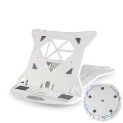 Desktop cervical vertebra office laptop radiator rotating simple vertical lazy support frame white 14-17 inches