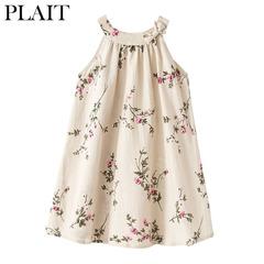 New hot linen girl dress breathable children's wear KIDS DRESSES Photo Color 9/10