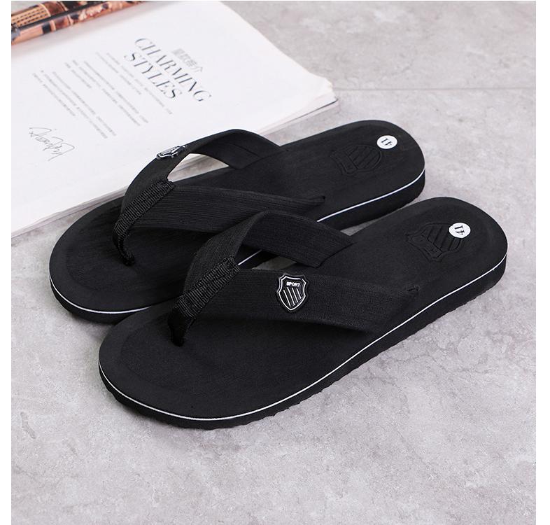 5ecc7619f Trend summer fashion flip flops non-slip beach leisure home slippers ...