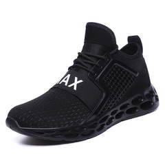 SLS Trends Popular Global Men's Shoes Casual Sports Fashion Comfortable Breathable Wild models black 44