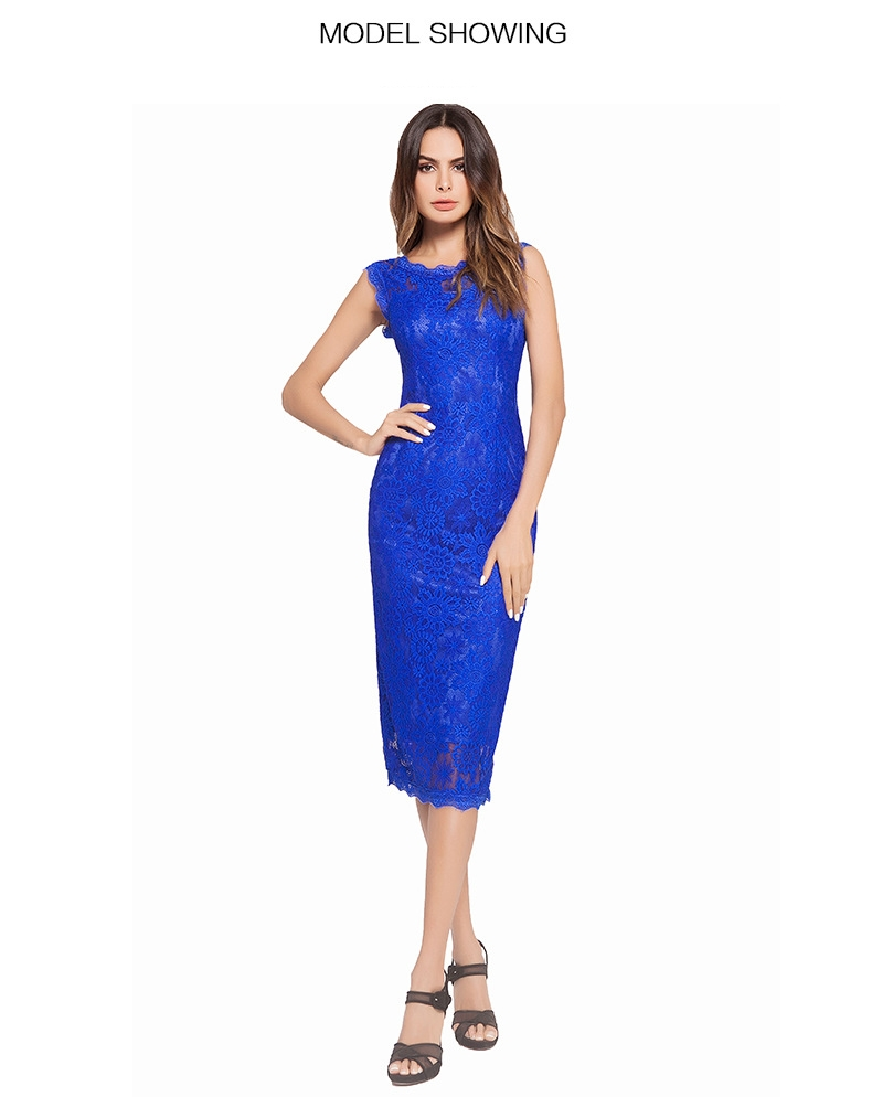 Skirt type  one step skirt. Collar type  round neck. Sleeve  Sleeveless  Waist type  high waist. Clothing placket  zipper ac90b62eb6227