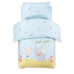 RedYoungth 3Pcs 100% Cotton Lovely Baby/Kindergarten Bedding Sets Duvet Cover Flat Sheet Pillow Case color 1 3 pcs
