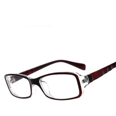 Stylish computer eye glasses for both men and women black 2