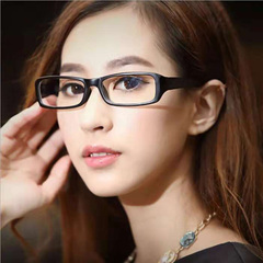 Stylish computer eye glasses for both men and women black 1