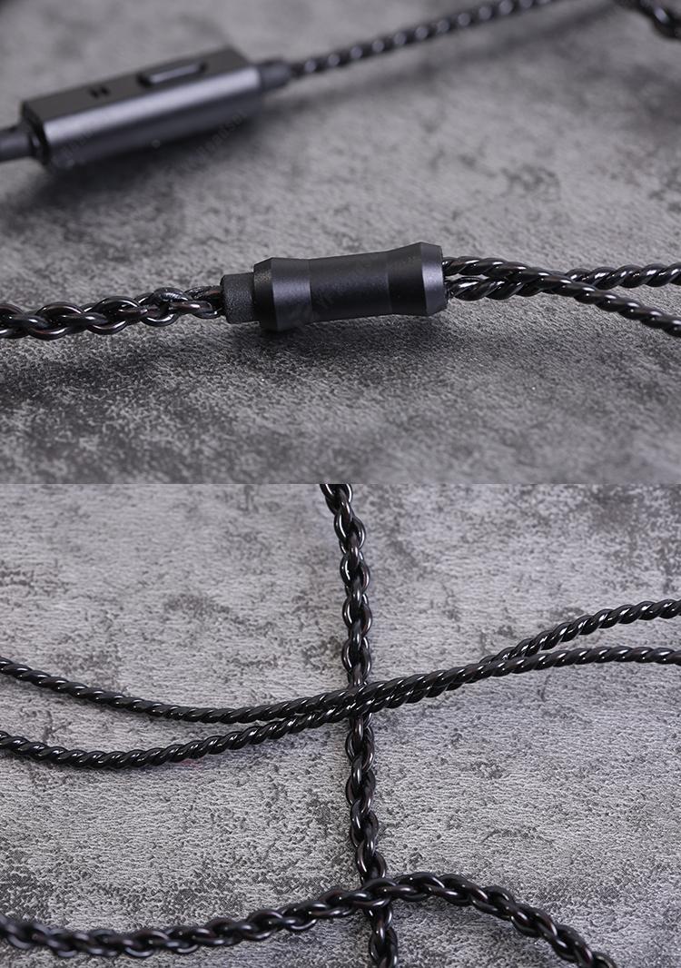 Trn V10 Input Earphone Hifi Monitoring 8 Cell Ring Iron Qkz Vk2 Grey Double Bass Line Control Black Kilimall Kenya