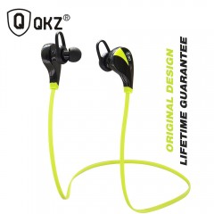 QKZ G6 general 4.0 Sports Wireless Bluetooth Usb Headset Earphones 4.0 stereo music  sports green