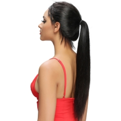 Queenlike Queen like Products Human Hair Wigs Weave High Quality Non Remy Brazilian Straight Hair black 16-26inches