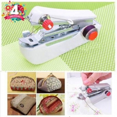 Mini Hand Sewing Machine DIY Color Random Handy Sewing machine Tool maquina de costura Accessories white 17*11*2.3cm