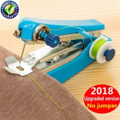 Mini Hand Sewing Machine DIY Color Random Handy Sewing machine Tool maquina de costura Accessories random 11cm*7cm*4cm