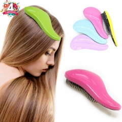 Magic Anti-static Hair Brush Handle Tangle Detangling Comb Shower Massage Comb  Hair Styling Tool random ordinary