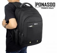Ponasoo Laptop Bag Black 15.6