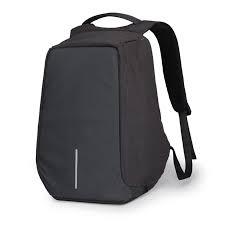 Anti Theft Back Pack-Black black 15.6